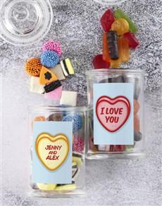gifts: Personalised Love You Sweetie Jar !