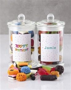 gifts: Personalised Birthday Sweetie Jar!