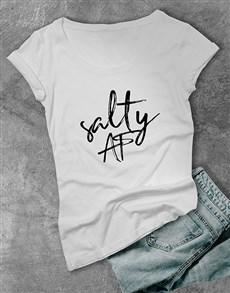 gifts: Salty AF Ladies T Shirt!
