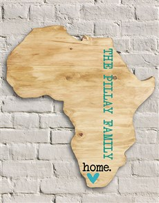 gifts: Personalised African Wood Wall Art!