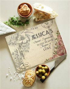 gifts: Personalised Secret Ingredient Glass Board!