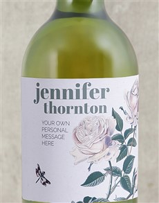 gifts: Personalised Rose Bush Wine Gift!