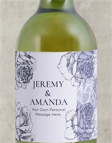 gifts: Personalised Couples Wine!