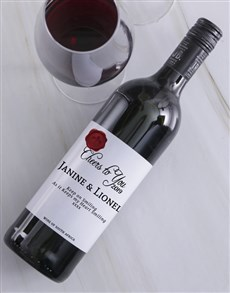 gifts: Cheers to You Personalised Wine!