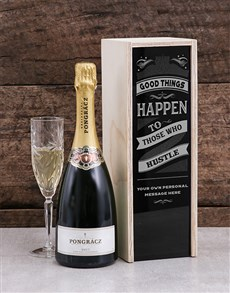 gifts: Personalised Those Who Hustle Pongracz Crate!