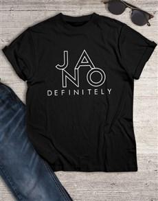 gifts: Ja No T Shirt!