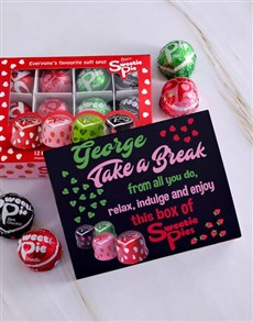 gifts: Personalised Relax and Indulge Sweetie Pie Box!
