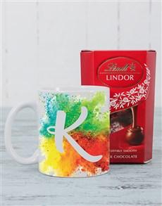 gifts: Personalised Colour Splash Mug!