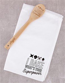 gifts: Personalised Superpower Wooden Spoon!