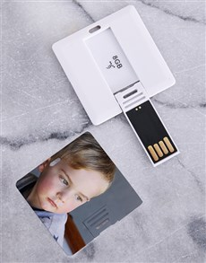 gifts: Personalised Photo 8G USB!