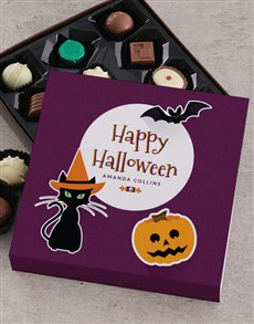 gifts: Personalised Happy Halloween Choc Tray!