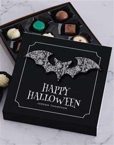 gifts: Personalised Halloween Bat Choc Tray!