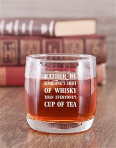 gifts: Personalised Everyones Whiskey Glass!