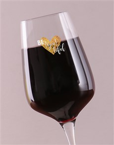 gifts: Personalised Love and Romance Wine Glass!