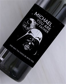 gifts: You Are My Father Personalised Wine!