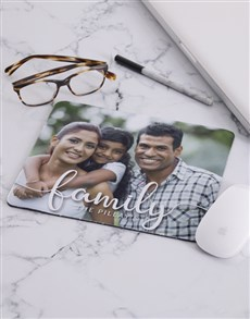 gifts: Personalised Family Photo Mouse Pad!
