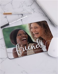gifts: Personalised Love Photo Mouse Pad!