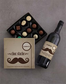 gifts: Choc Stache of Personalised Chocolate!