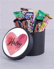 gifts: Personalised Heart Hat Box!