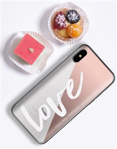 gifts: Personalised Love Samsung Cover!