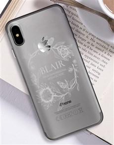 gifts: Personalised Protea iPhone Cover!