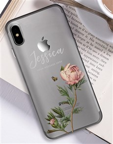 gifts: Personalised Rose iPhone Cover!