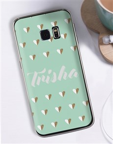 gifts: Personalised Hearts Samsung Cover!
