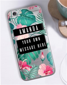 gifts: Personalised Tropicana iPhone Cover!
