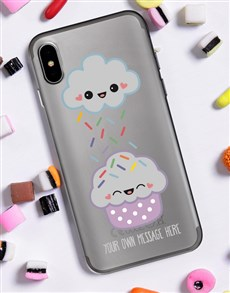 gifts: Personalised Cupcake iPhone Cover!