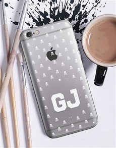 gifts: Personalised Skulls iPhone Cover!