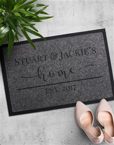 gifts: Personalised Home Doormat!