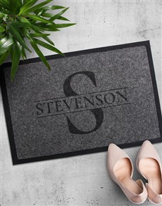 gifts: Personalised Family Doormat!