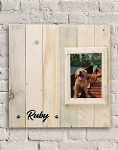 gifts: Personalised Dog Photo Frame!