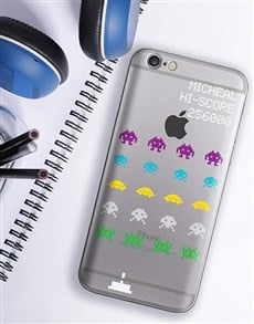 gifts: Personalised Space Invaders iPhone Cover!