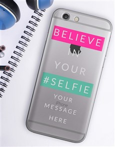 gifts: Personalised Selfie iPhone Cover!