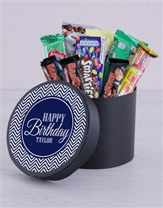 gifts: Personalised Happy Birthday Hat Box!