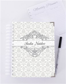 gifts: Personalised Royalty Journal!