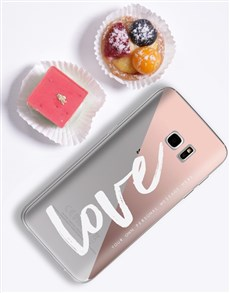 gifts: Personalised Love iPhone Cover!