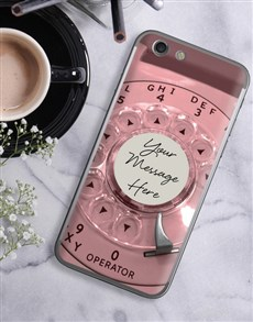 gifts: Personalised Retro Phone iPhone Cover!