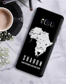 gifts: Personalised Africa Samsung Cover!