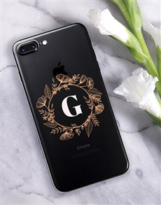 gifts: Personalised Flower Crown iPhone Cover!