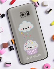 gifts: Personalised Cupcake Samsung Cover!