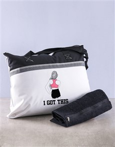 gifts: Personalised I Got This Gym Combo!
