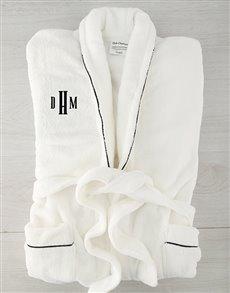 gifts: Personalised Urban Monogram Fleece Gown!