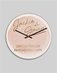 gifts: Personalised MDF Happy Clock!