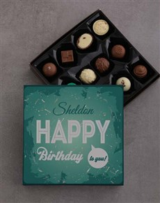 gifts: Happy Birthday To You Chocolate Tray!