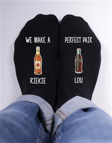 gifts: Personalised Perfect Pair Socks!