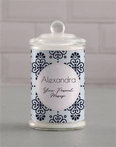 gifts: Personalised Patterned Candle Jar!
