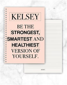 gifts: Personalised Best Version Of You Notebook!