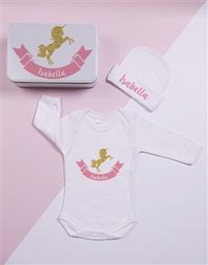 gifts: Personalised Keepsake Unicorn Tin Gift Set!